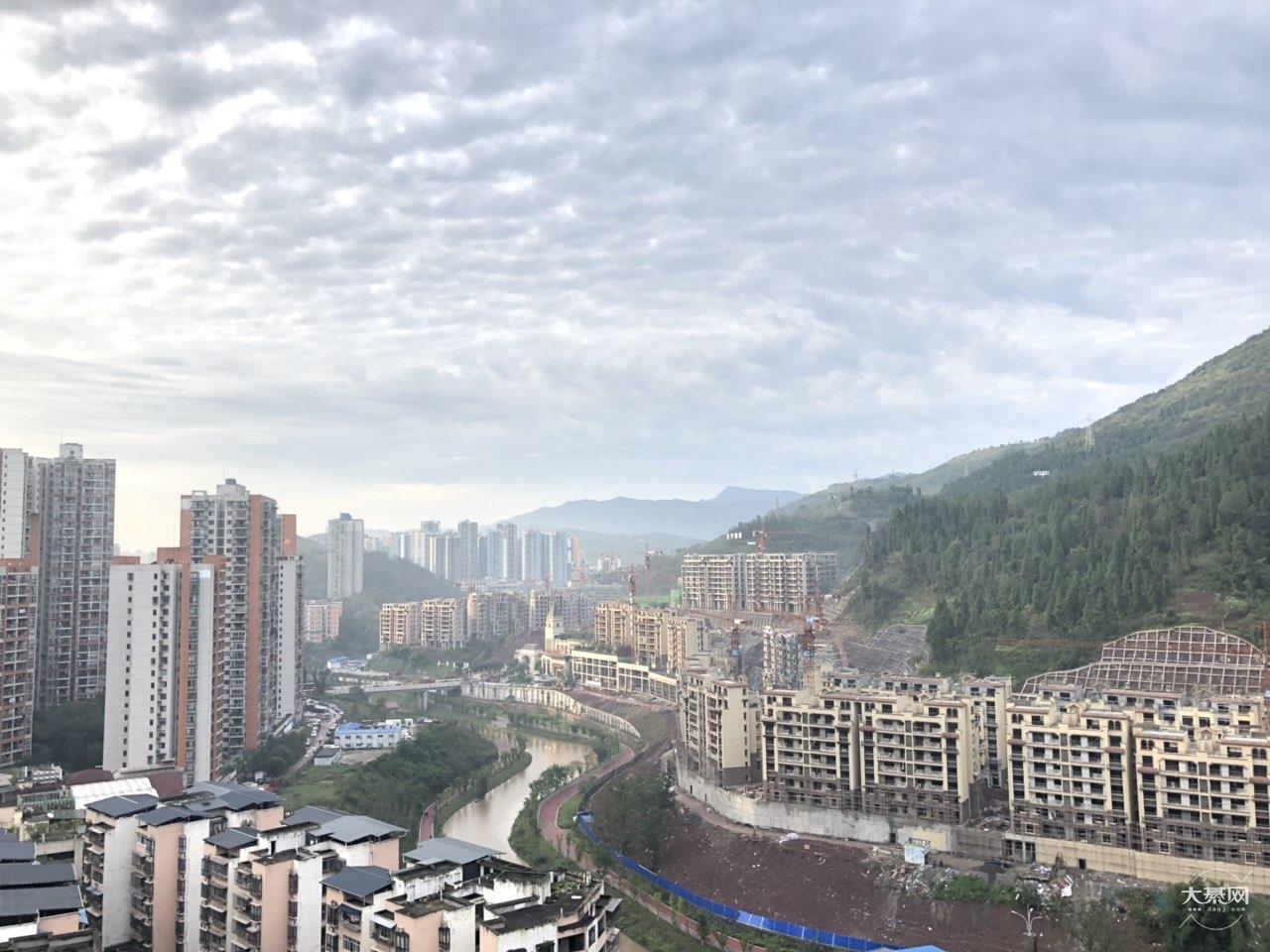 早晨,晴朗的天空