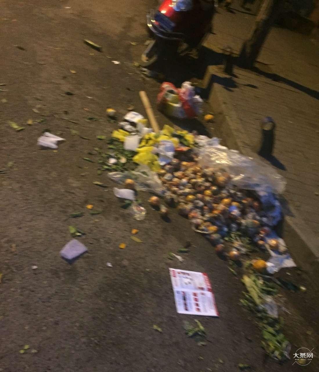 网友爆料:这就是卫生城市綦江,水果市场缺乏管理