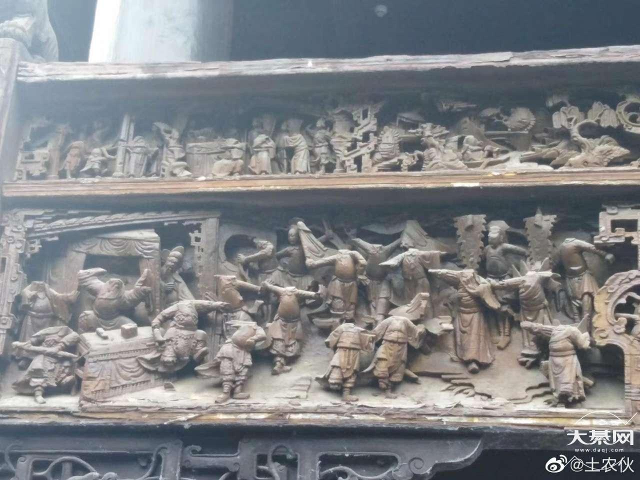 东溪古镇的浮雕真不错