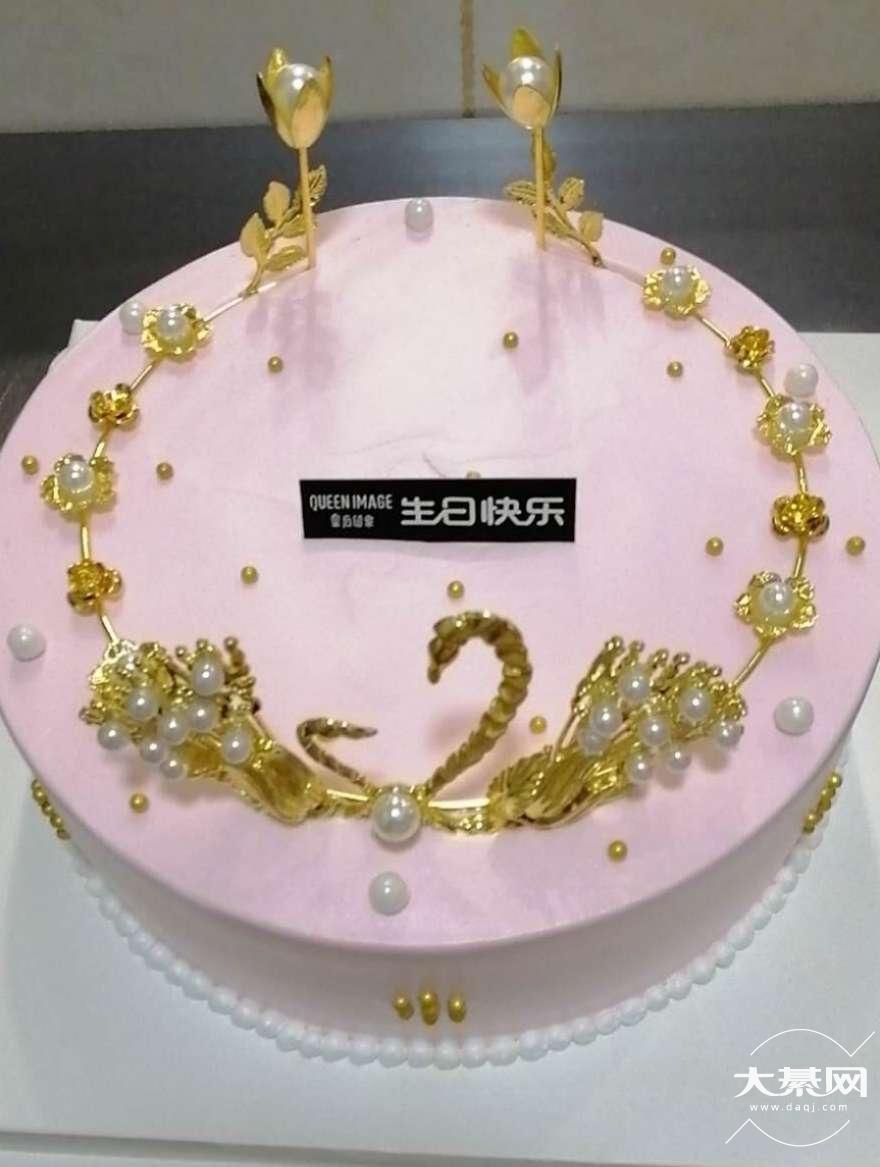 昨天在大众点评沙溪路皇后印象定了一个特价蛋糕,去店
